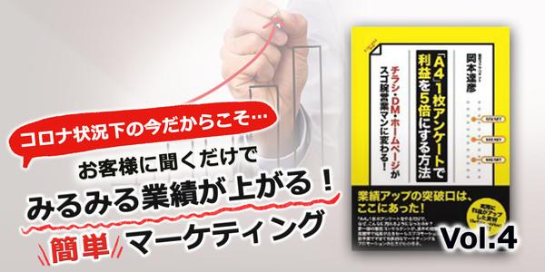 第4回 「A4」1枚アンケートから売れる広告を作る